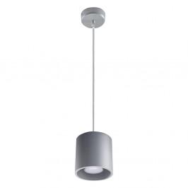 Sivé závesné svetlo Nice Lamps Roda