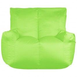 Zelený sedací vak pre dvoch Sit and Chill Coron