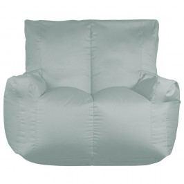 Sivý sedací vak pre dvoch Sit and Chill Coron