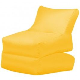 Žlté skladacie ležadlo Sit and Chill Lato