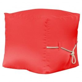 Červený puf Sit and Chill Tablas