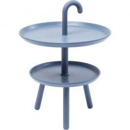 Sivý odkladací stolík Kare Design Jacky, ⌀42cm