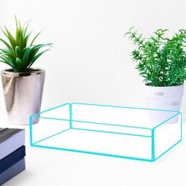 Úložný box s modrými hranami Lund London Flash Tidy, 20x13,5cm