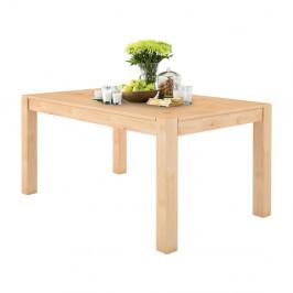 Jedálenský stôl z masívneho borovicového dreva Støraa Monique, 76×140 cm