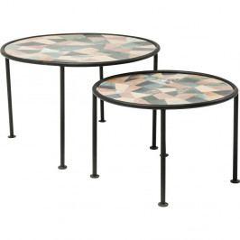 Sada 2 odkladacích stolíkov Kare Design Coccio