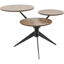 Odkladací stolík Kare Design Bonsai Tre Walnut