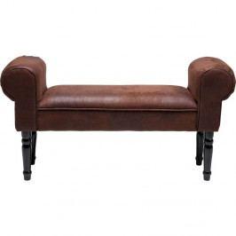 Hnedá lavica Kare Design Vintage