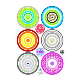 Samolepka Ambiance Colorful Bubbles