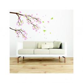 Sada samolepiek Ambiance Tree Branch Pink Flowers
