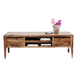 Nízka komoda/TV stolík z dreva sheesham Kare Design Brooklyn