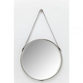 Nástenné zrkadlo v striebornej farbe Kare Design Hacienda, Ø61cm