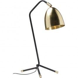 Čierno-zlatá stolová lampa Kare Design Knit