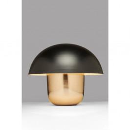 Stolová lampa v zlatej farbe s čiernym tienidlom Kare Design Mushroom