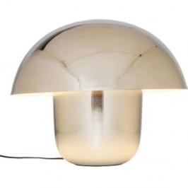 Stolová lampa v chrómovej farbe Kare Design Mushroom