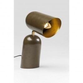 Hnedá stolová lampa Kare Design Megaphon