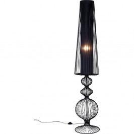 Čierna stojacia lampa Kare Design Swing