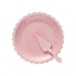 Set ružovej formy na tortu aservírovacej lopatky Ladelle Bake
