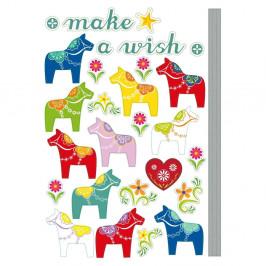 Samolepka Fanastick Small Colorful Horses