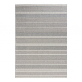Sivý vonkajší koberec Bougari Strap, 160 x 230 cm