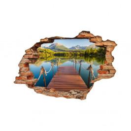 Samolepka Fanastick Panorama mountain lake