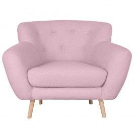 Ružové kreslo Kooko Home Pop