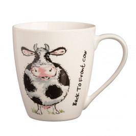 Hrnček s motívom kravy z porcelánu Price&Kensington B2F Cow, 340 ml