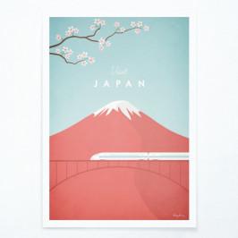 Plagát Travelposter Japan, A3