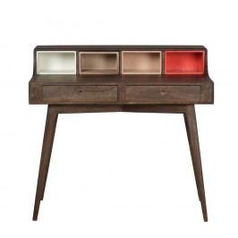 Pracovný stôl zmasívneho mangového dreva Woodjam Play Dark