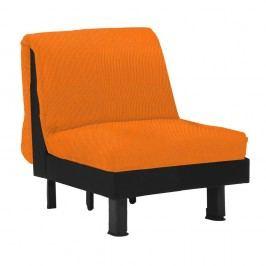 Oranžové rozkladacie kreslo 13Casa Lillo