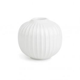 Biely porcelánový svietnik Kähler Design Hammershoi, ⌀ 7,5 cm