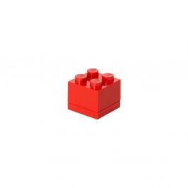 Červený úložný box LEGO® Mini Box II
