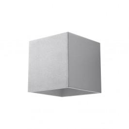 Sivé nástenné svetlo Nice Lamps Geo