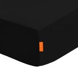 Čierna elastická plachta HF Living Basic, 90x200cm