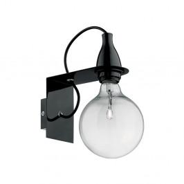 Čierne nástenné svietidlo Evergreen Lights City