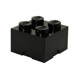 Čierna úložná kocka LEGO®