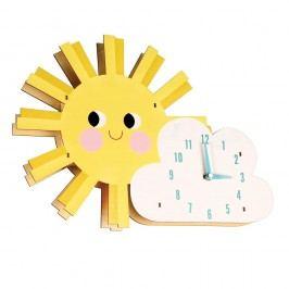 Drevené hodiny Rex London Hello Sunshine
