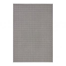 Čierno-biely koberec vhodný aj do exteriéru Meadow, 160×230 cm