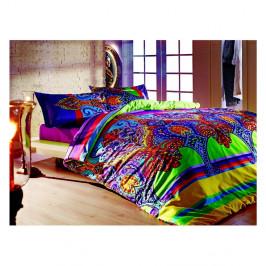 Bavlnené obliečky s plachtou na dvojlôžko Orient, 200×220 cm