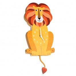 Drevené hodiny Rex London Charlie The Lion