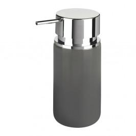 Sivý dávkovač mydla Wenko Soap, 250 ml