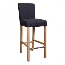 Čierna barová stolička House Nordic Boden Matte