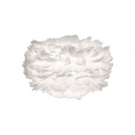 Biele tienidlo z husieho peria VITA Copenhagen EOS, Ø35cm