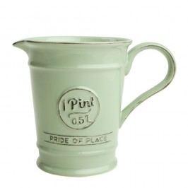 Zelený porcelánový džbánik T&G Woodware Pride of Place, 500 ml
