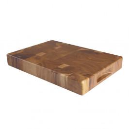 Doštička z akáciového dreva T&GWoodware Tuscany, dĺžka 38 cm