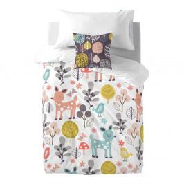 Detské bavlnené obliečky Moshi Moshi Woodland, 140×200 cm