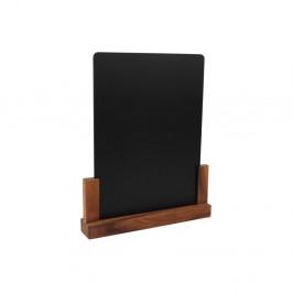 Tabuľka so stojanom z akáciového dreva T&GWoodware Rustic, výška32 cm