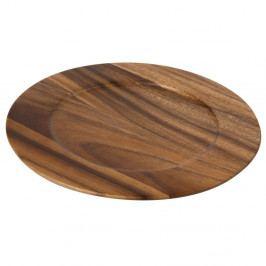 Drevená doska z akáciového dreva T&GWoodware Tuscany, ⌀ 30 cm