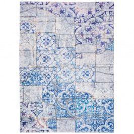Sivo-modrý koberec Universal Alice, 80×150cm