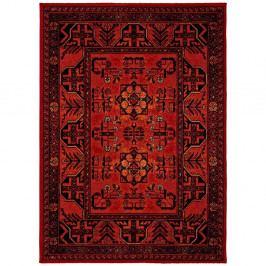 Tmavočervený koberec Universal Classic Red, 140 x 200 cm