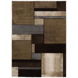 Hnedý koberec Universal Malmo Brown, 160 x 230 cm